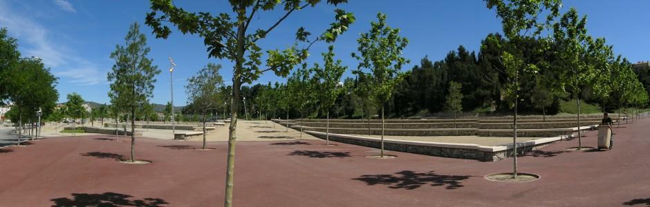 Plantacions ornamentals al Parc de Valldaura